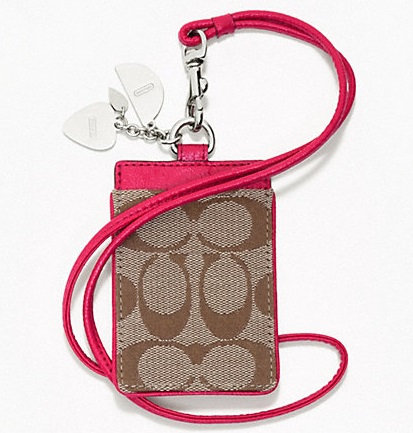 Coach Fruit Charm Lanyard ID Case - Multicolor F63554, 180, Accessories, Coach