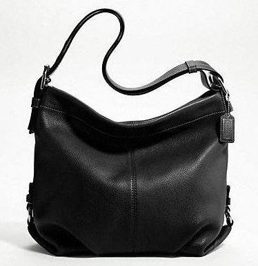 Coach Leather Duffle - Black F15064, 690, Handbags, Coach