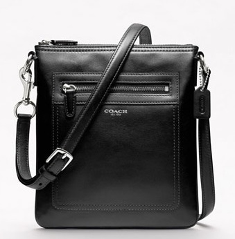 Coach Legacy Leather Swingpack - Black 47989, 530, Handbags, Coach