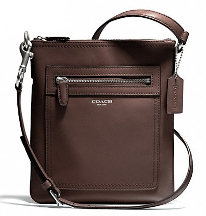 Coach Legacy Leather Swingpack - Midnight Oak 47989, 530, Handbags, Coach