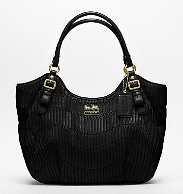 Coach Madison Gathered Leather Abigail Shoulder Bag 18603 44