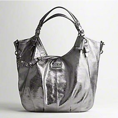 Coach Silver Shoulder Bag – Shoulder Travel Bag