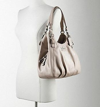 Madison Leather Maggie Shoulder Bag Black 78