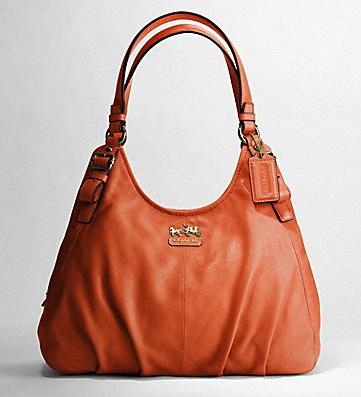 Madison Leather Maggie Shoulder Bag Black 14