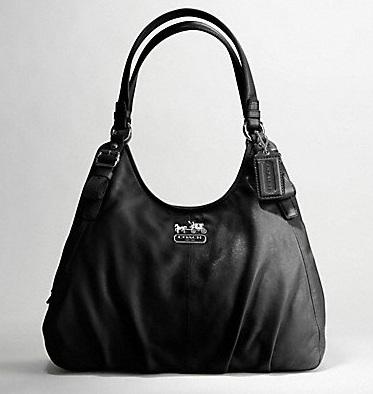 Coach Black Shoulder Bag 100