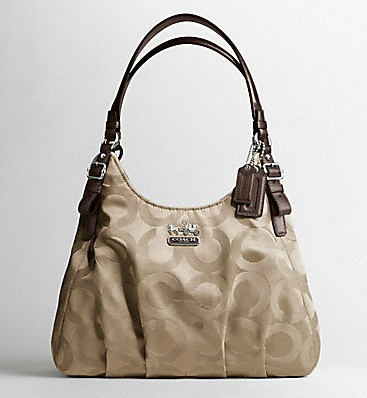 Coach Silver Shoulder Bag 11