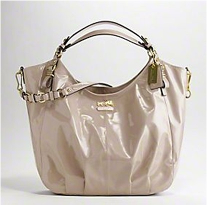 Coach Patent Shoulder Bag 17