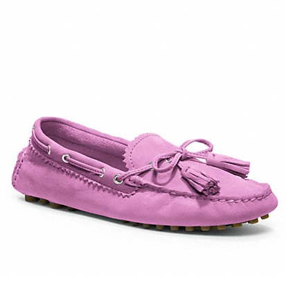 Coach Nadia Flat Shoes - Lilac Blush Q1872, 470, Accessories, Coach