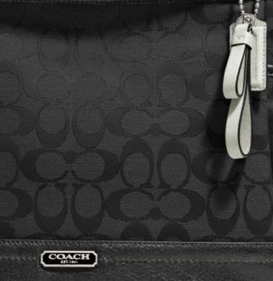 Coach Park Signature Carrie - Black F23297, 650, Handbags, Coach