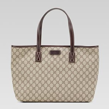 192d07a4e Gucci Medium Tote - Beige Ebony Brown 211137 FCIER 9643, 1980, Tote Bag,