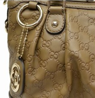 Gucci Sukey Guccissima Leather Top Handle Bag - Taupe 247902 AA61G 2319, 3990, Top Handle, Gucci