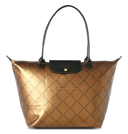 LongChamp LM Medium Tote Long Handle - Old Gold 1899510-725, 530, LM db6df6fd9f