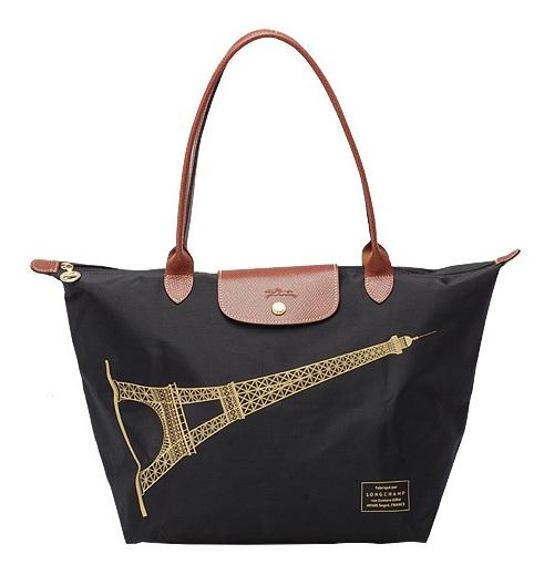 Longchamp Eiffel Laukku : Longchamp le pliage eiffel tower car interior