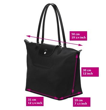 Longchamp Planetes Long Handle Medium Shoulder Bag 120