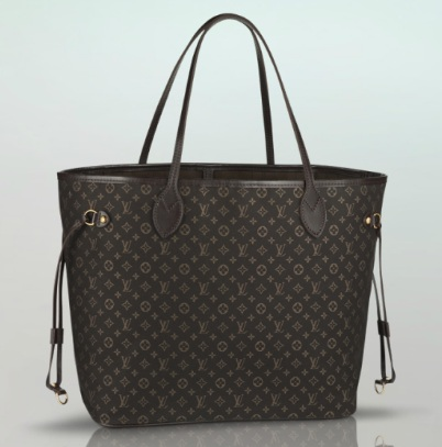 Louis Vuitton Neverfull MM - Monogram Idylle M40513, 3300, Shoulder ...