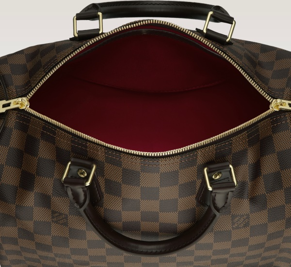 Louis Vuitton Speedy 30 with Shoulder Strap - Damier N41183, 3850, Top Handles, Louis Vuitton