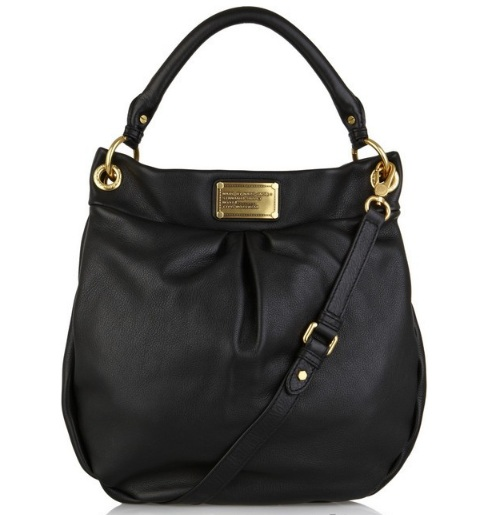 Marc By Marc Jacobs Classic Q Hillier Hobo - Black 0, 1490, Hobo, N/A