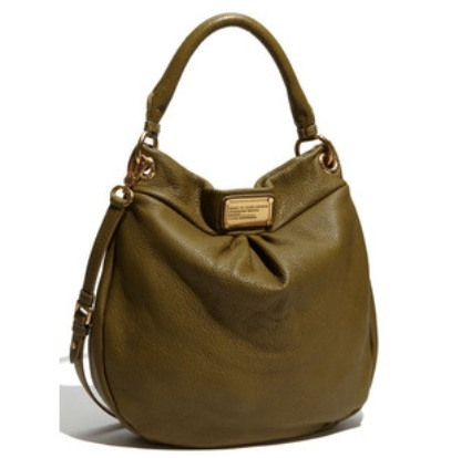 Marc By Marc Jacobs Classic Q Hillier Hobo - New Olive Green 0, 1399, Hobo, N/A