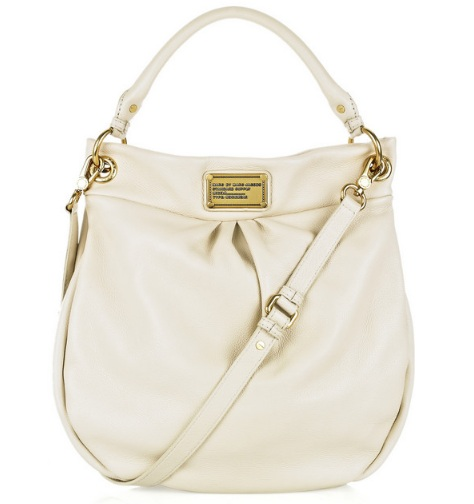 Marc By Marc Jacobs Classic Q Hillier Hobo - Talc 0, 1490, Hobo, N/A