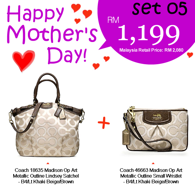 Mother Set 05 Mom 05, 1199, Mother's Day 2012 Combo Sets, Coach