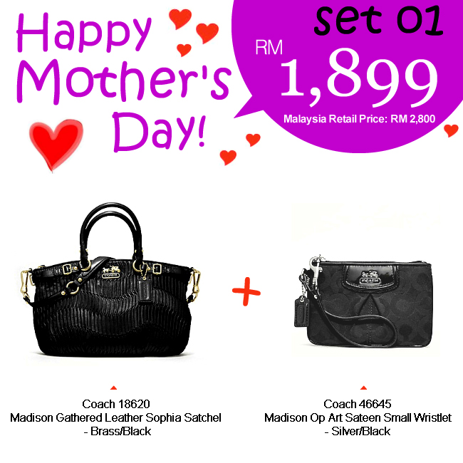 Mother Set 01 Mom 01, 1899, Mother's Day 2012 Combo Sets, Coach