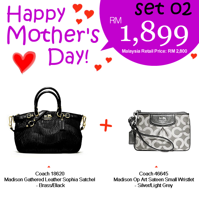 Mother Set 02 Mom 02, 1899, Mother's Day 2012 Combo Sets, Coach