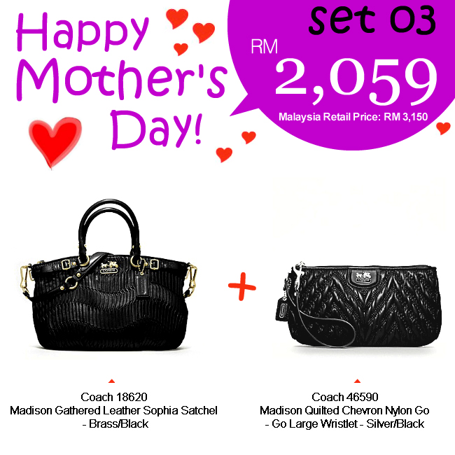 Mother Set 03 Mom 03, 2059, Mother's Day 2012 Combo Sets, Coach