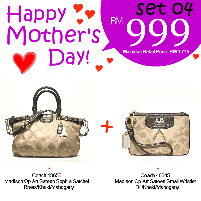 Mother Set 04 Mom 04, 999, Mother's Day 2012 Combo Sets, Coach