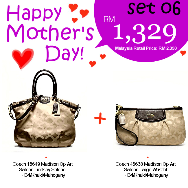 Mother Set 06 Mom 06, 1329, Mother's Day 2012 Combo Sets, Coach