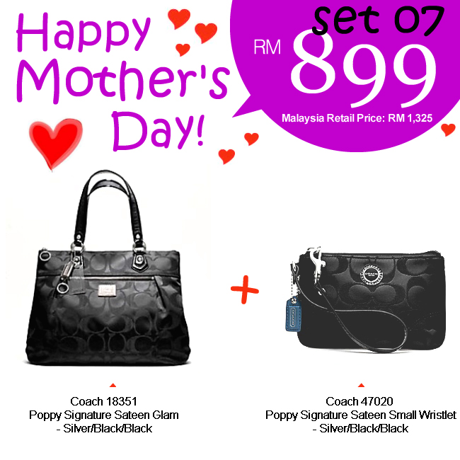 Mother Set 07 Mom 07, 899, Mother's Day 2012 Combo Sets, Coach