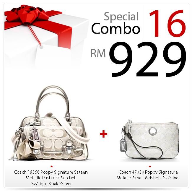 Special Combo Set 16 SC-16, 929, Special Combo Deals 2012, Coach