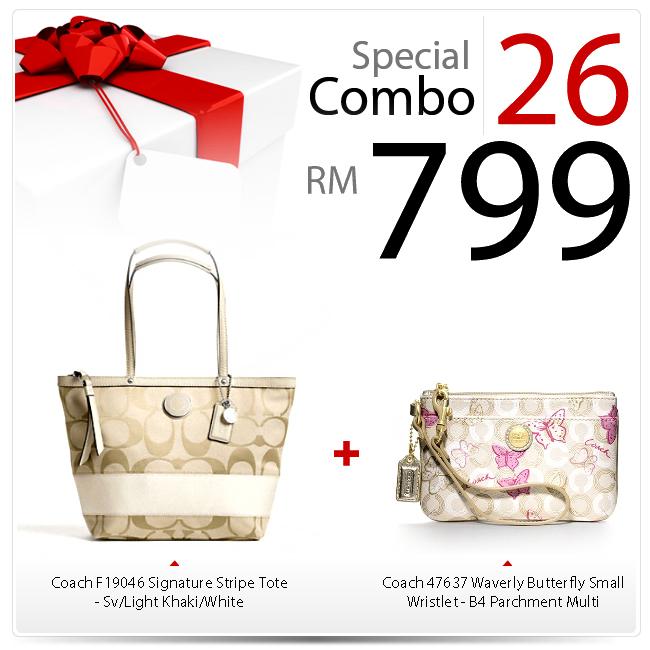 Special Combo Set 26 SC-26, 799, Special Combo Deals 2012, Coach