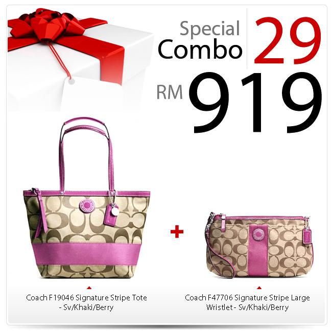 Special Combo Set 29 SC-29, 919, Special Combo Deals 2012, Coach